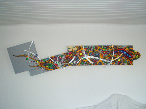 Séduction   53cm x 2m