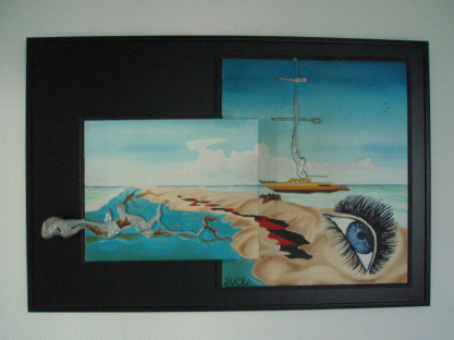 L'oeil de TETHYS   1m x 68cm