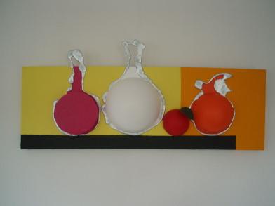 Pomme rouge   30cm x 90cm