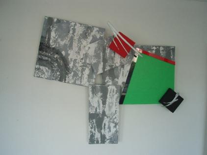Green square   1,02m x 83cm